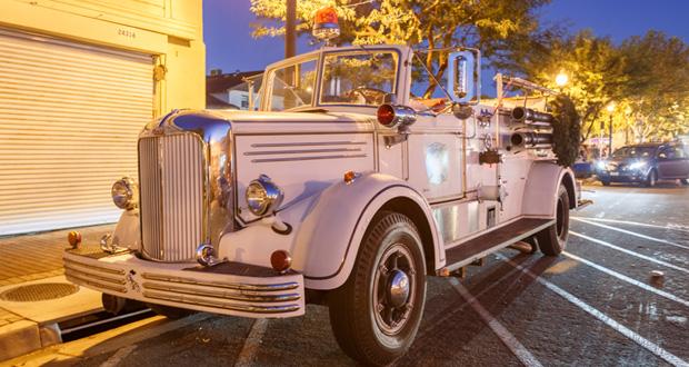 KHTS Antique Firetruck