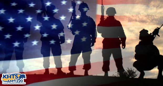 Military American Flag
