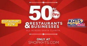 Shop KHTS / Restaurant Row Slider