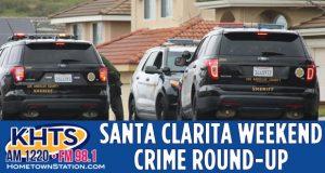 Louie: Santa Clarita weekend Crime Round-up slider_sheriff's vehicles in background
