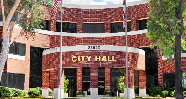 Front of City Hall